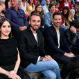 Exclusif - Marina Kaye, Christophe Willem et Emmanuel Moire, Christine and The Queens, le chanteur Raphaël et la chanteuse Zaz, dans les arènes de Nîmes à l'occasion de la spéciale Fête de la musique de l'émission  La Chanson de l'année  sur TF1, le samedi 20 juin 2015.