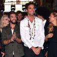 Exclusif - Madilyn Bailey, Kendji Girac, le chanteur Mika et Louane Emera, dans les arènes de Nîmes à l'occasion de la spéciale Fête de la musique de l'émission  La Chanson de l'année  sur TF1, le samedi 20 juin 2015.