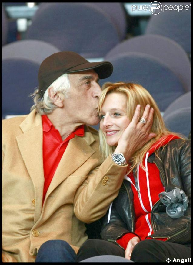 Gérard Darmond et Christine, sa compagne