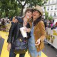 """Céline Sallette et Romane Bohringer - Avant première du film """"Les Minions"""" au Grand Rex à Paris le 23 juin 2015"""