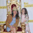 """Romane Bohringer et sa fille Rose - Avant première du film """"Les Minions"""" au Grand Rex à Paris le 23 juin 2015"""