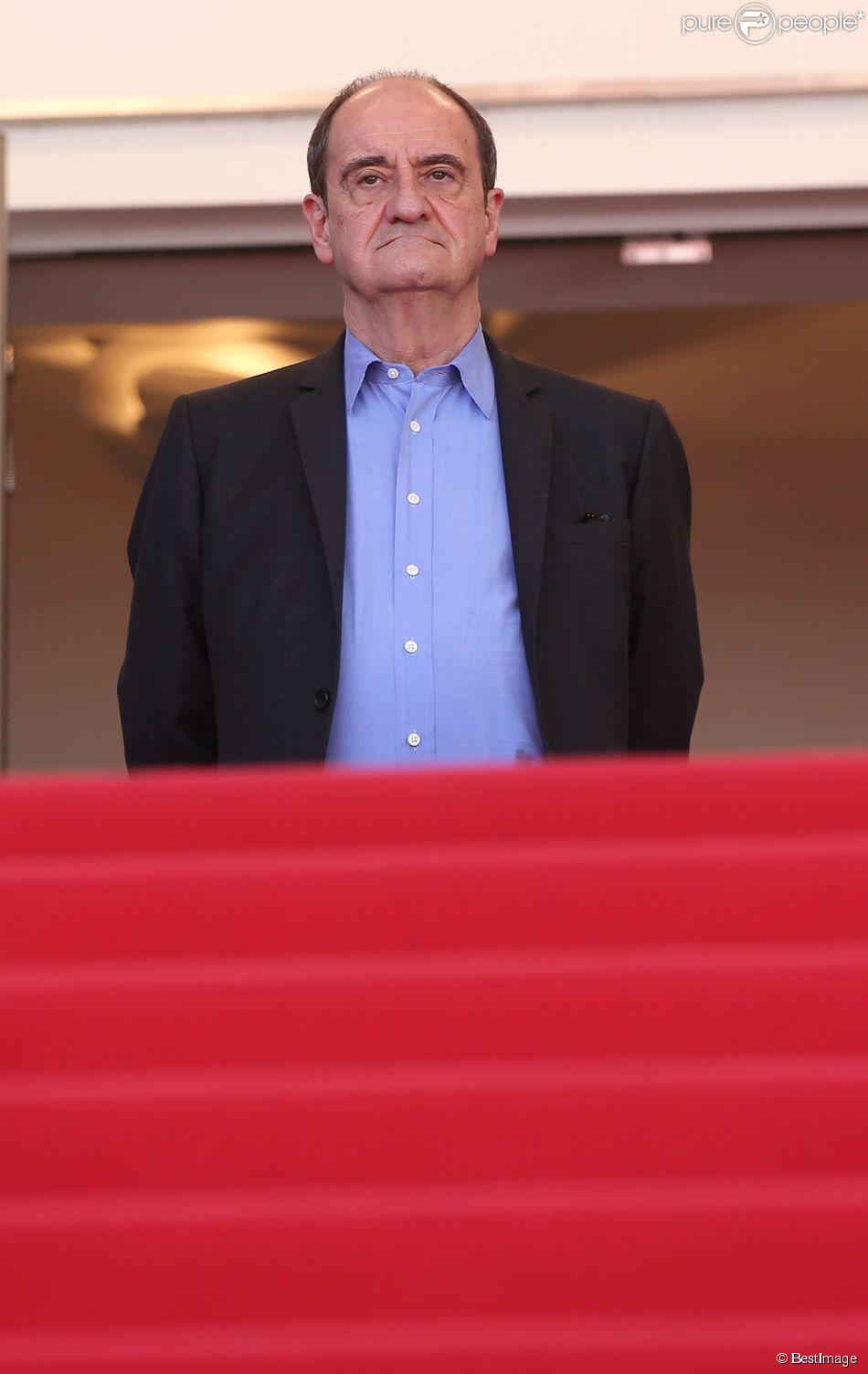"""Pierre Lescure - Montée des marches du film """"Lumière 120 ans du cinématographe Lumière"""" lors du 68e Festival International du Film de Cannes, à Cannes le 17 mai 2015."""
