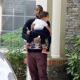 """Bobby Brown Jr. - Les membres de la famille de Bobbi Kristina Brown arrivent au """"Peachtree Christian Hospice"""" pour lui rendre visite à Duluth en Georgie, le 30 juin 2015."""