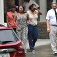 La famille et les amis de Bobbi Kristina, la fille de Whitney Houston, lui rendent visite à l'hôpital le 27 juin 2015 à Duluth.