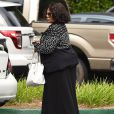 Pat Houston, la soeur de Whitney et des amis rendent visite à sa nièce Bobbi (la fille de Whitney Houston) hospitalisée à Duluth le 26 juin 2015
