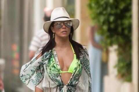 Eva Longoria : En robe noire sexy ou bikini, elle enflamme Marbella !