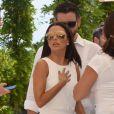 Eva Longoria au tournoi caritatif Global Gift 2015 à Marbella en Espagne, le 4 juillet 2015