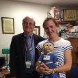 Jennifer Garner rend visite à un hôpital pour enfants de Boston le 26 juin 2015.