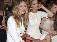 Fashion Week : Eva Herzigova et Elle Macpherson, duo angélique et complice