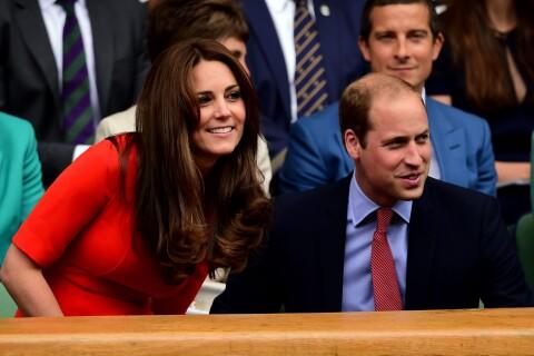 Kate et William, non loin de David Beckham et son fiston, à Wimbledon