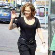 """Exclusif - Jennifer Lopez sur le tournage de la série """"Shades of Blue"""" à New York, le 8 juin 2015."""