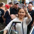 Jennifer Lopez sur le tournage de 'Shades of Blue' à New York City, le 10 juin 2015