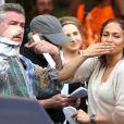 Jennifer Lopez sur le tournage de 'Shades of Blue' à New York City, le 10 juin 2015 avec Ray Liotta