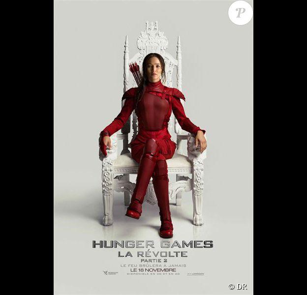 Nouvelle affiche du film Hunger Games : La Révolte - Partie 2