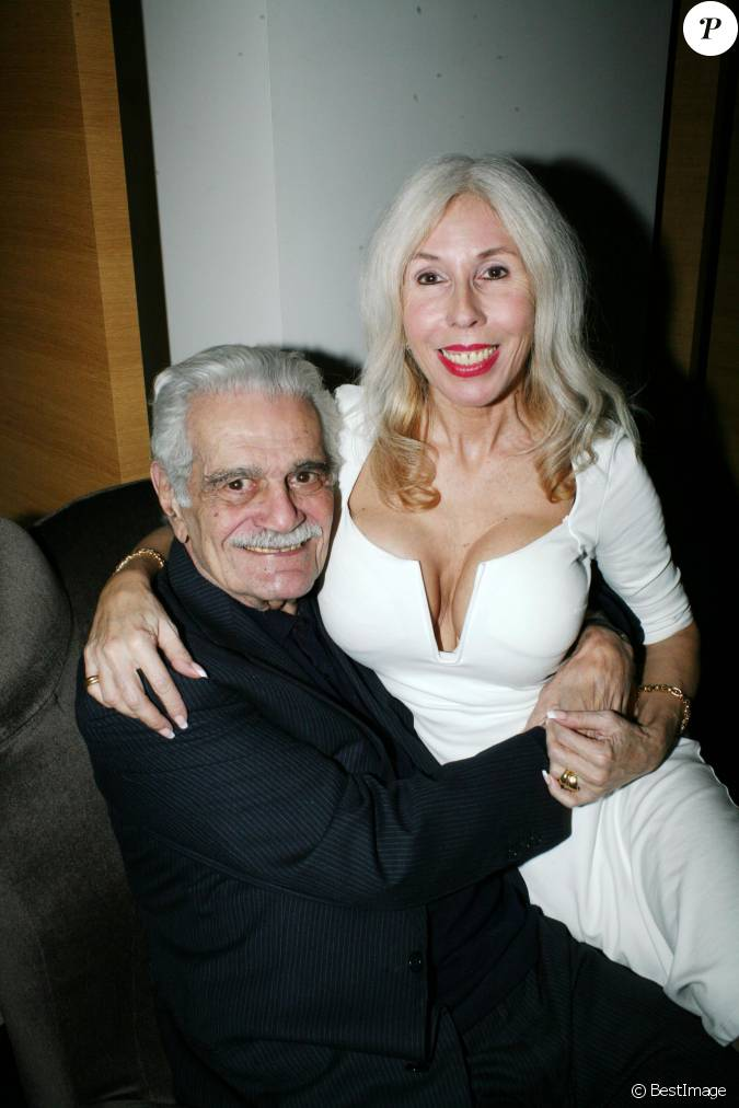 v ronique koch et omar sharif paris le 17 novembre 2014. Black Bedroom Furniture Sets. Home Design Ideas