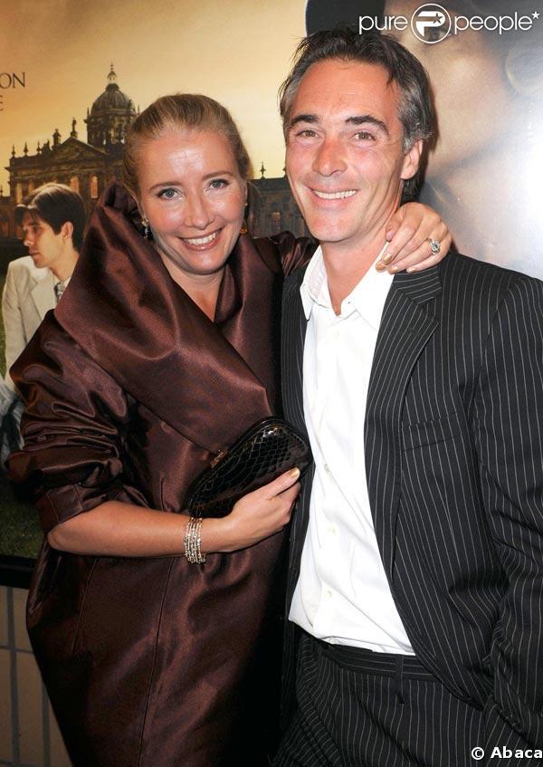 Emma Thompson et Greg Wise