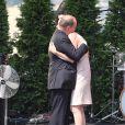 Le prince Albert II de Monaco a eu droit à un cadeau très émouvant de la part de la princesse Charlene le 11 juillet 2015 pour la célébration des dix ans de son règne : son premier discours en français...