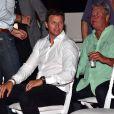 Gareth Wittstock, frère de la princesse Charlene. Concert organisé le 12 juillet 2015 sur la place du palais princier à Monaco, avec Robbie Williams et Lemar, en clôture des célébrations des 10 ans de règne du souverain.