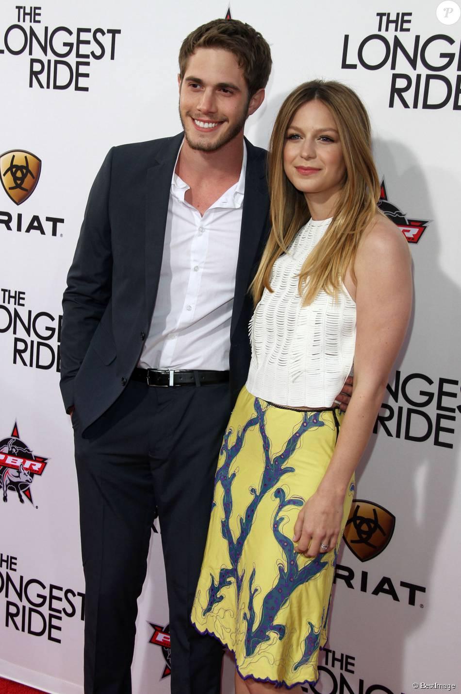 "Melissa Benoist, Blake Jenner - Première du film ""The Longest Ride"" à Hollywood le 6 avril 2015."
