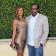 "Bobby Brown et sa femme Alicia Etheridge au 1er gala ""Legends Beyond"" a Beverly Hills. Le 19 septembre 2013"