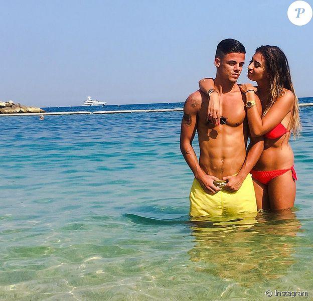 Martika et Sébastien Amoros : In love sur la plage
