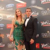 Antonio Banderas : Sa chérie s'affiche dans une robe transparente et étincelante