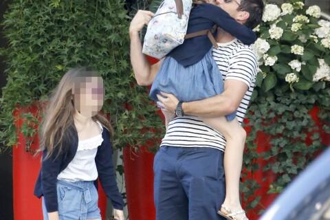 Frank Lampard: Intenses retrouvailles avec ses filles, devant sa belle Christine