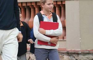 REPORTAGE PHOTOS : Joyeux anniversaire, Juan Valentin, petit prince d'Espagne ! Tu as gagné le droit... d'aller à l'école !