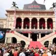 """Première du film """"Mission Impossible - Rogue Nation"""" à Vienne en Autriche le 23 juillet 2015."""