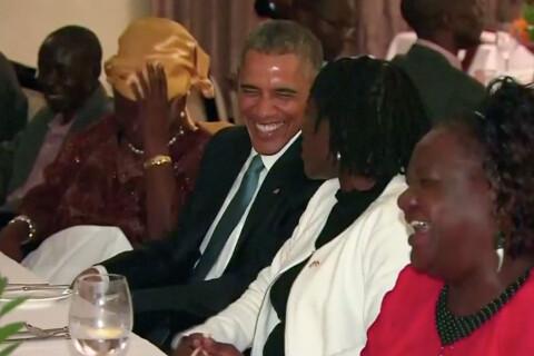 Barack Obama au Kenya : Touchantes retrouvailles et grand dîner avec sa famille