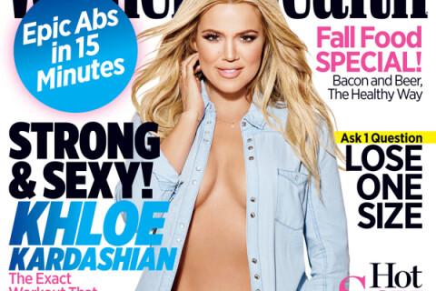 Khloé Kardashian : Craquante en chemise et petite culotte
