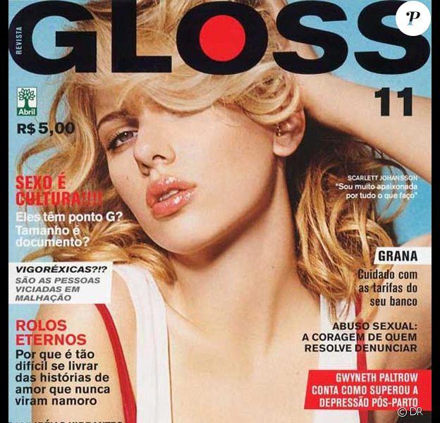 Scarlett Johansson pour Gloss