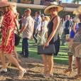 """Exclusif - Caitlyn Jenner (Bruce) assiste à l'ouverture de la """"Del Mar Races"""" à San Diego, accompagnée de sa supposée compagne Candis Cayne. Le 16 juillet 2015"""