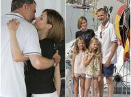 Felipe d'Espagne: Baiser de Letizia, Leonor et Sofia à bord, un capitaine comblé