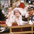 Mariage du prince Charles et de Lady Diana Spencer le 29 juillet 1981 à Londres.