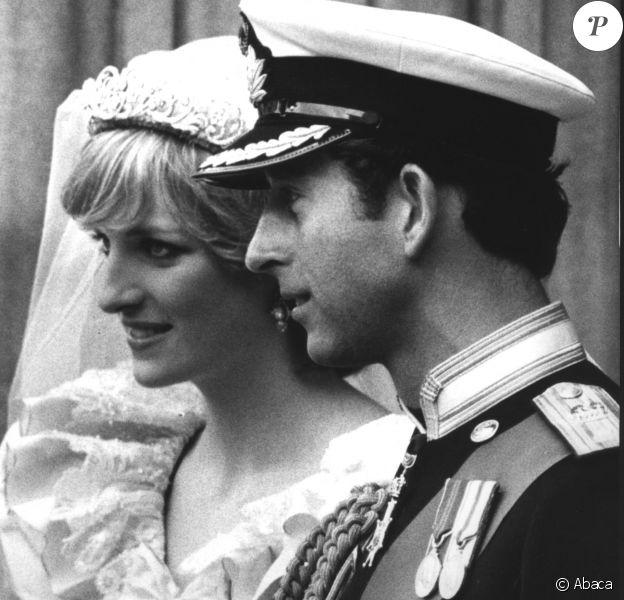Image du mariage du prince Charles et de Lady Diana Spencer le 29 juillet 1981 à Londres.
