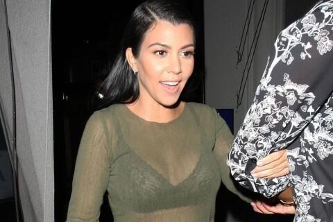 Kourtney Kardashian : Sortie en bateau avec ses enfants après un dîner sexy !