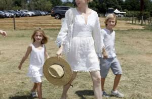 Kelly Rutherford, ses enfants paniqués ?