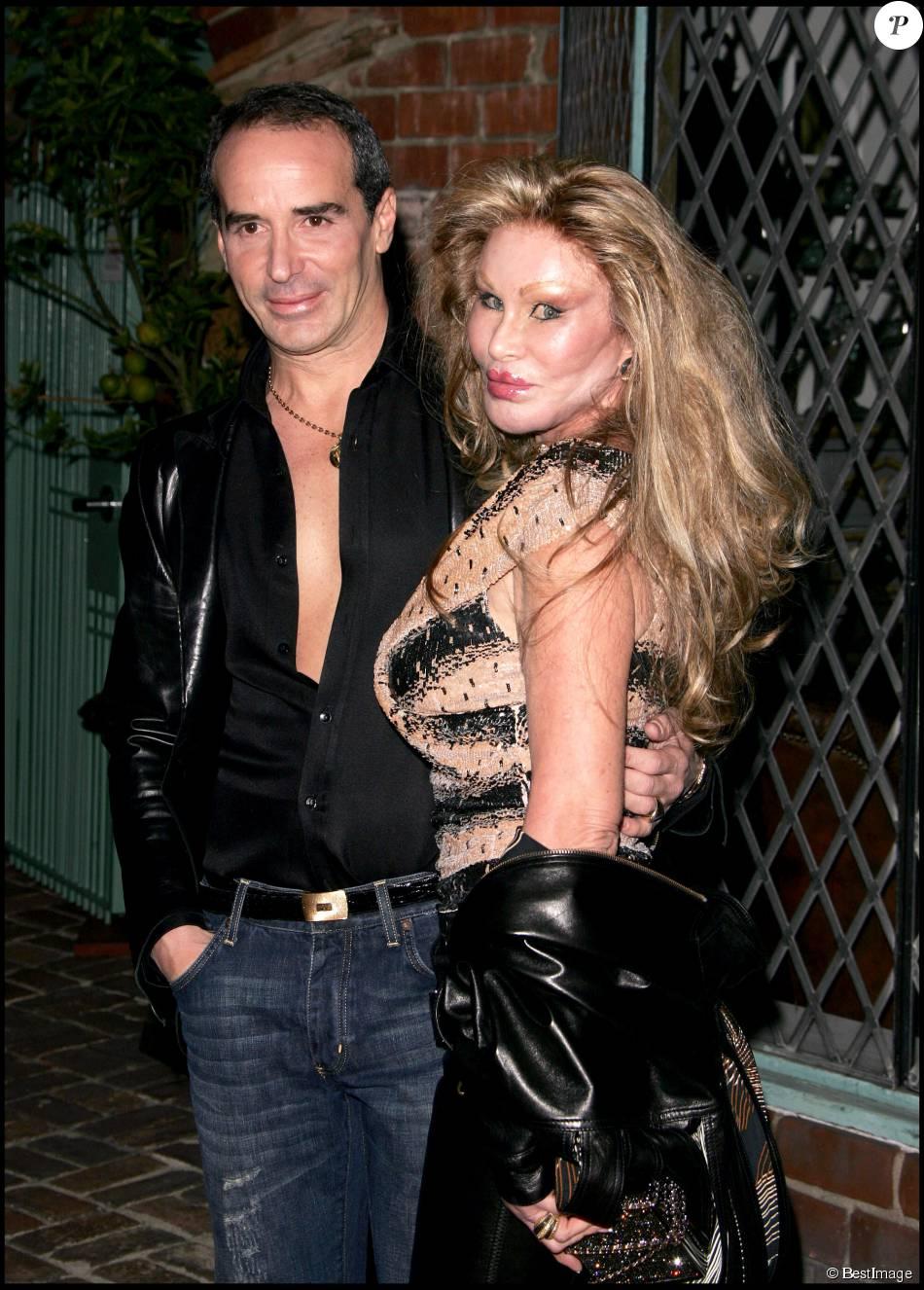 JOCELYN WILDENSTEIN ET LLOYD KLEIN - OUVERTURE DE LA NOUVELLE BOUTIQUE LLOYD KLEIN A LOS ANGELES 14/11/2006 - Los Angeles