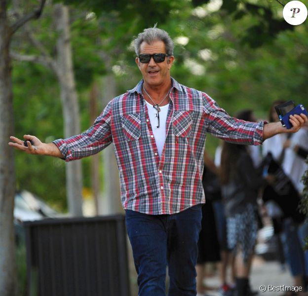 Mel Gibson est allé diner à Malibu, le 15 mars 2015
