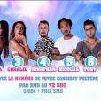 Les nominés de cette semaine, dans  Secret Story 9  sur TF1, le vendredi 28 août 2015.