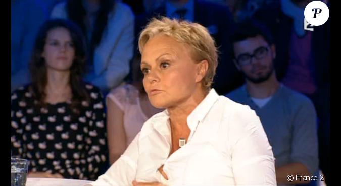 Muriel robin invit e dans on n 39 est pas couch sur france 2 le samedi 29 ao t 2015 - Muriel robin on n est pas couche ...