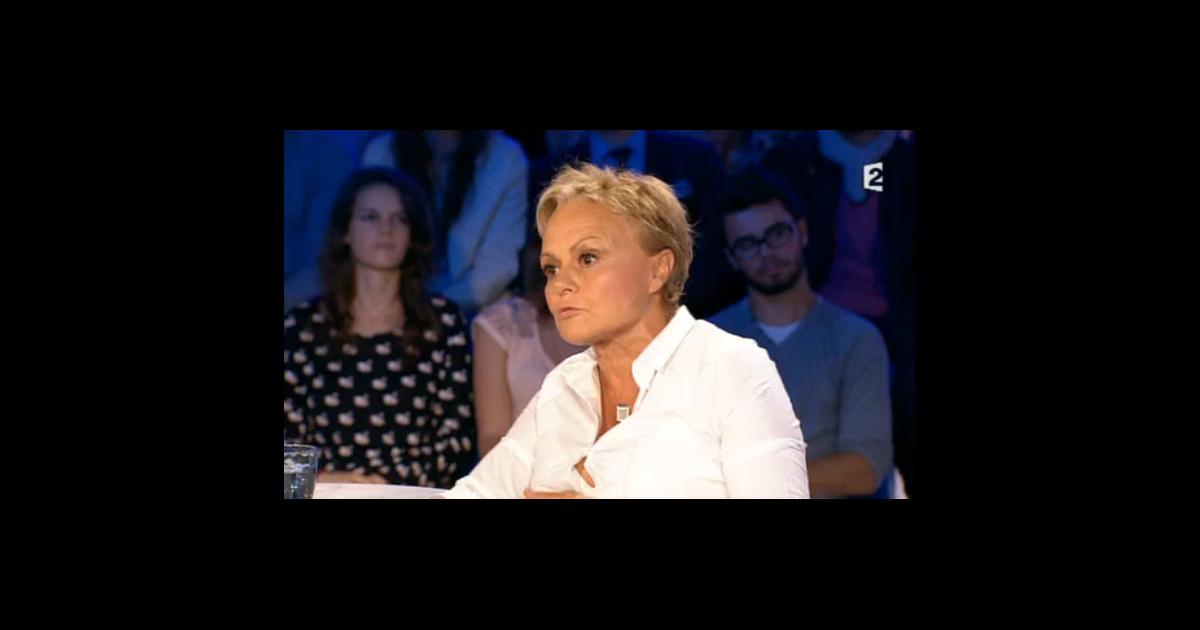 Muriel robin invit e dans on n 39 est pas couch sur france 2 le samedi 29 ao t 2015 purepeople - Muriel robin on n est pas couche ...