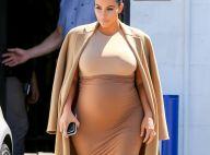 Kim Kardashian, enceinte : Stylée et radieuse au travail après sa folle soirée