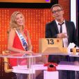 Camille Cerf vexe Sylvie Tellier - Extrait de l'émission spéciale Miss France de  A prendre ou à laisser , sur D8, le 4 septembre 2015.
