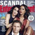 Kerry Washington et le casting de Scandal pour Entertainment Weekly. 2015