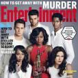 Viola Davis et le casting de How to get away with murder. Entertainment Weekly. Septembre 2015
