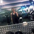 Alexia (Secret Story 7) est totalement accro au sport comme en témoignent les nombreuses photos et vidéos qu'elle poste sur son compte Instagram. Août-septembre 2015.
