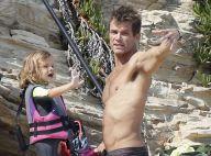 David Chokachi (Alerte à Malibu) : Papa câlin et toujours musclé à la plage