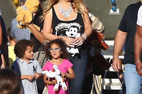 Mariah Carey : Journée délire en famille à la foire avec Monroe et Moroccan